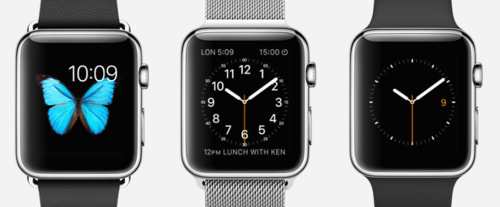 Apple Watch - 3 styles from which to choose