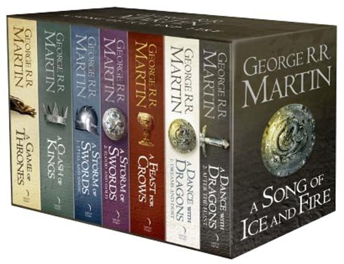 A Game of Thrones: The Complete Box Set of All 7 Books