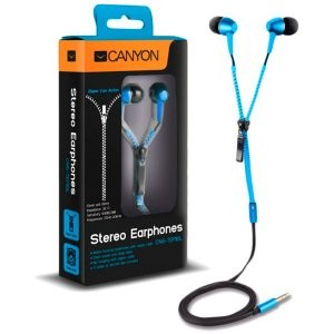 Canyon Zipper Cable Earphones | Free Shipping!