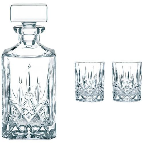 Nachtmann 4pc Whiskey Glasses & Decanter Set