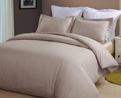 Luxurious Egyptian Cotton | Natural Duvet Cover set (Queen)