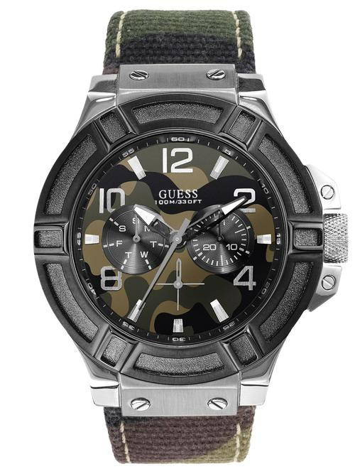Guess Men's Rigor Camo Watch
