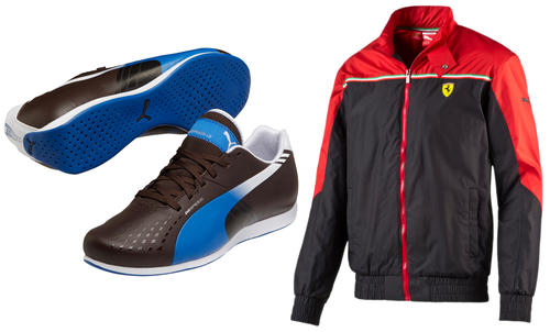 Ferrari Jackets (314479) & Puma Sneaker (MPM171) starting at R680