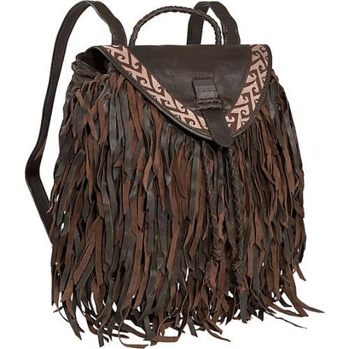 Topanga Fringe Backpack & Guess Accessory COMBO