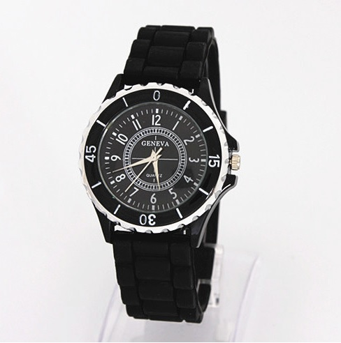 10 COLOURS AVAILABLE- Geneva silicone Watch