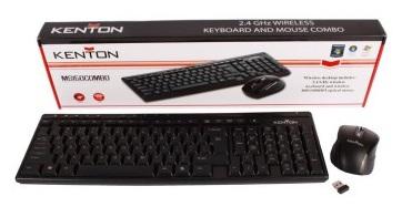 Kenton Wireless Multimedia Keyboard/Mouse Combo