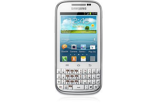 Samsung Galaxy Chat B5330   4 GB   White