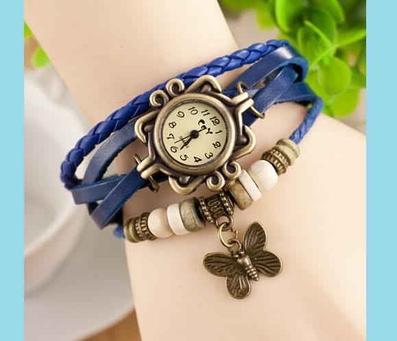 Wrap Around Watch Bracelet