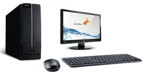 Acer Aspier XC Desktop PC + 18.5'' Topview LED Monitor