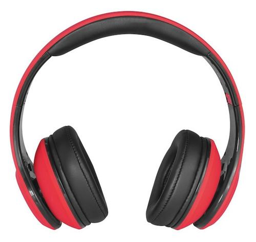 Canyon Fashion Over Ear Headphones - Red