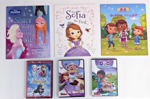 Kid's Book & DVD Sets