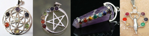 Crystal Chakra Pendants | 4 to choose from