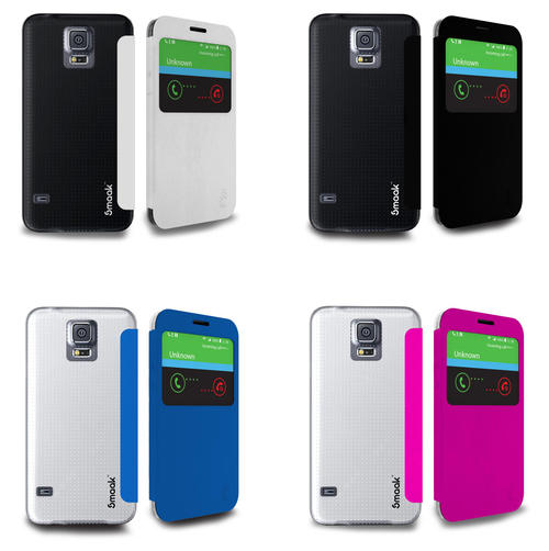 Smaak Flip Case for Galaxy S5 + Screen Protectors | Free Shipping