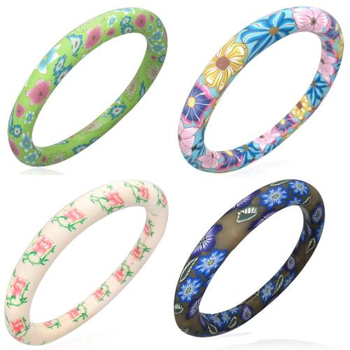 Ladies Fimo \ Polymer Clay Fashion Bangles | 5 styles to choose from