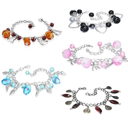Ladies Fashion Charm Bracelets | 5 styles to choose from