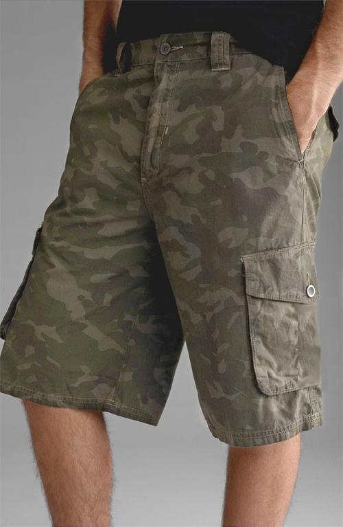 Angelo Litrico Camo Print Combat Shorts | Sizes 32-42