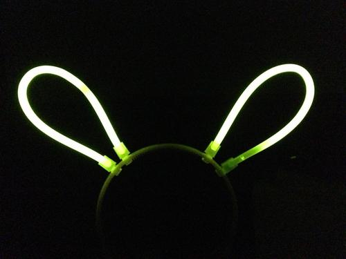 Glow Bunny-Ear Headband