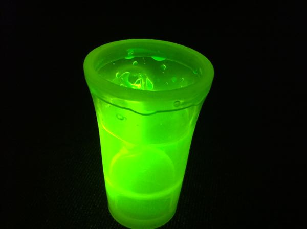 Glow Shot Glasses Assorted Colours