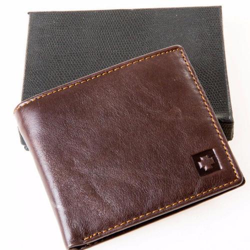 RFID Blocking Wallet Genuine Leather