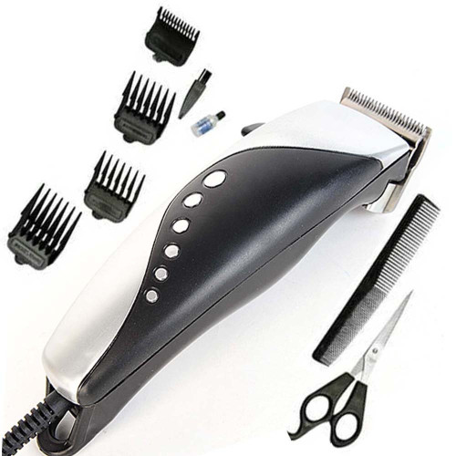 Nova Electric Hair Clipper With Four Attachment Scissors + Combo
