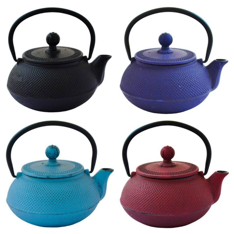 Eetrite 600ml Cast Iron Teapot