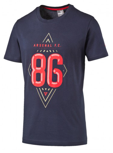 Arsenal Official Graphic Tee