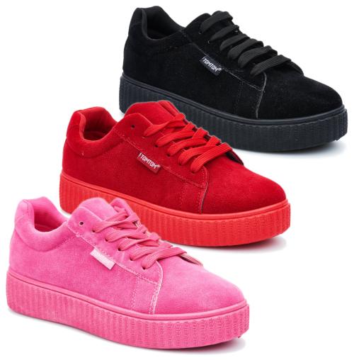Ladies Tom Tom Fashion Sneakers (FC940)