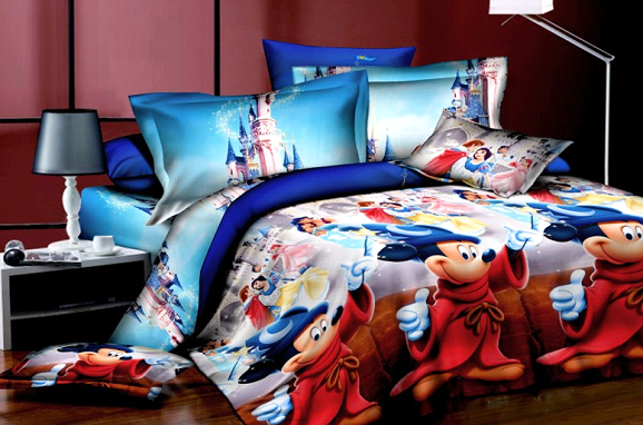 Mickey & Minnie Mouse Duvet Cover Set