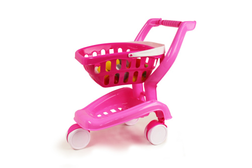2-in-1 Toy Shopping Cart
