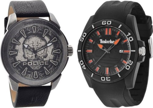 Men's Police & Timberland Watches