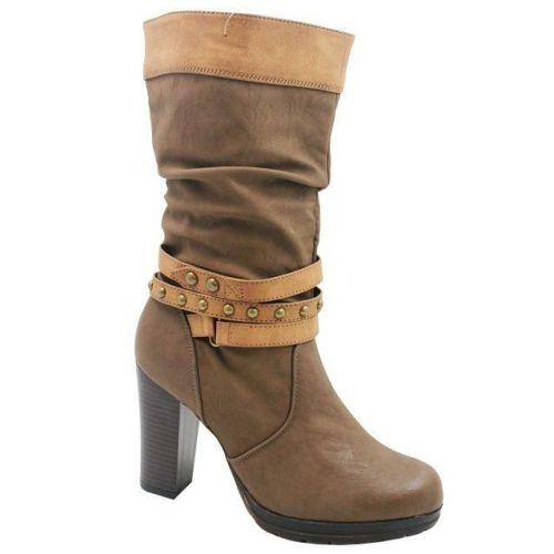 Ladies' Instreet Chunky Heel Boots
