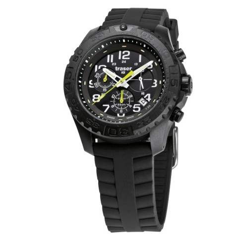 Traser H3 Outdoor Pioneer Chronograph Silicone Watch