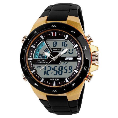 SKMEI Digital And Analog Watch