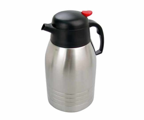 Matte Stainless Steel Vacuum Jug with Handle 2L