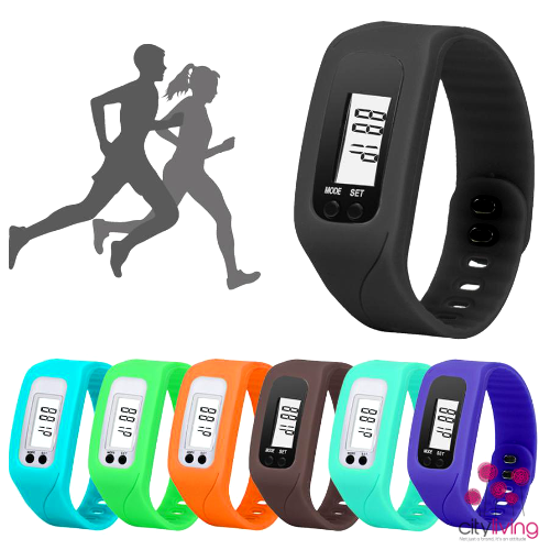 Fitness Bracelet with Pedometer