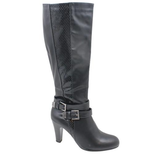 Ladies Knee-High Boots High Heel