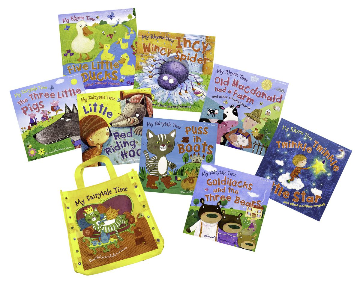 My Story and Nursery Rhyme Collection Bag
