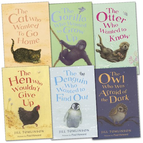 Jill Tomlinson 6-Book Collection