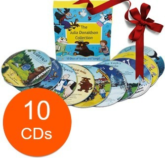 The Julia Donaldson Collection - 10 CD Stories & Songs