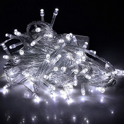 Battery Operated White Fairy LED String Lights