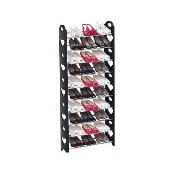 2 x 10 Tier Shoe Rack