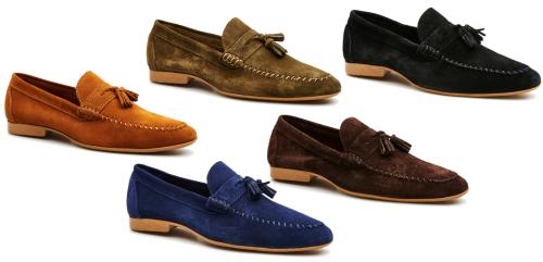 Men's Penny Moc Tassle Shoes 5 Colours (TO116)