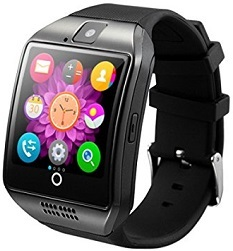 Q18 Proffesional Smart Watch Black Free Shipping