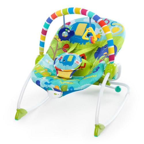Bright Starts Infant to Toddler Rocker Merry Sunshine