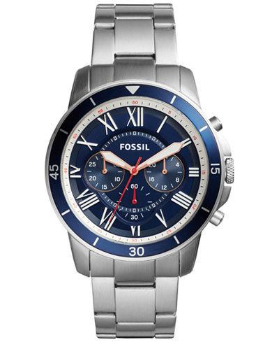 Fossil Mens FS5238 Grant Watch