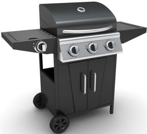Zooltro 3+1 Burner Gas BBQ Braai Grill