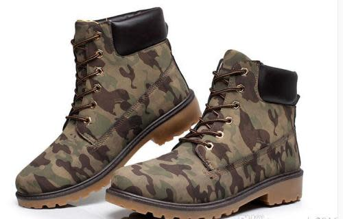 Blakes Summer Camouflage Boots
