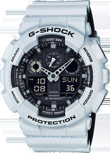 Casio Men's G-Shock White Edition