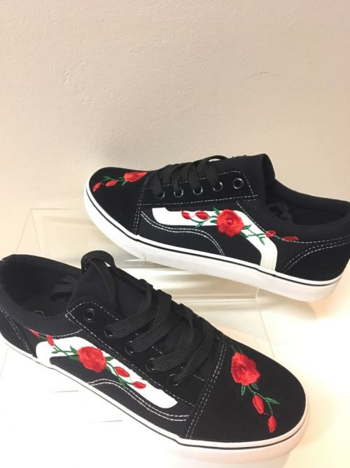 Snazzy Floral Sneakers