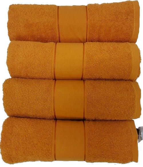 Glodina Bath Towels Mustard
